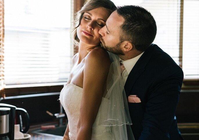 couple mariage amour bonheur mariés
