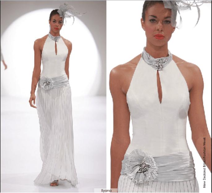 Vestido Ilyana, colección 2012 Rubén Perlotti