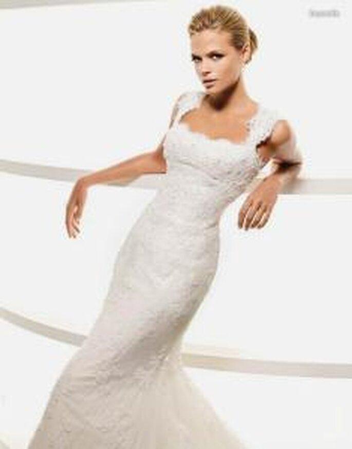 vestidos de novia de corte sirena la sposa 2010
