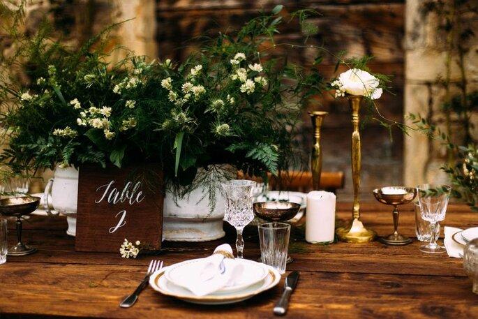 Décoration florale de table à Lyon