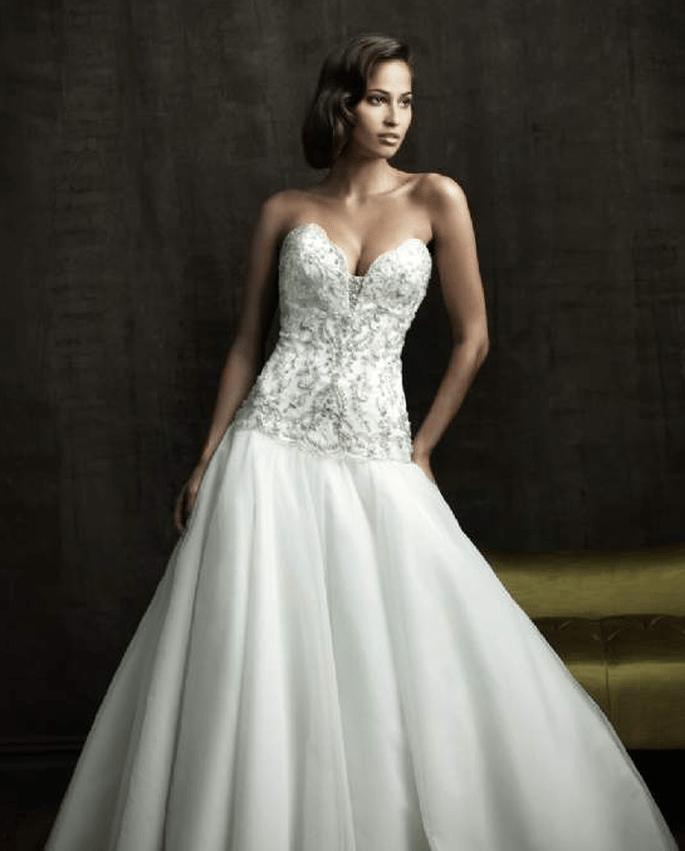 Un estilo de novia muy elegante a buen precio. Foto: Lucky Love Novias