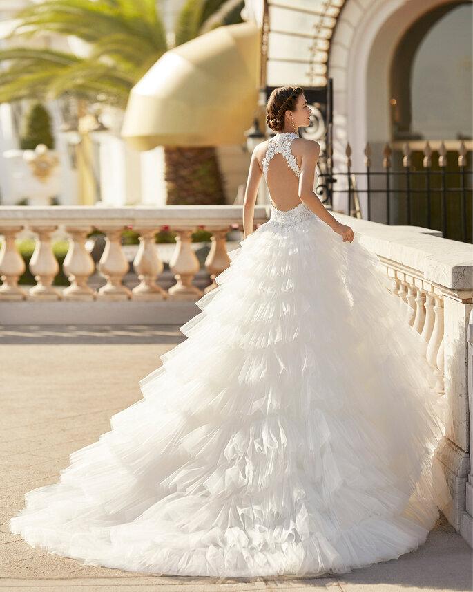 Vestidos de novia cuello cisne