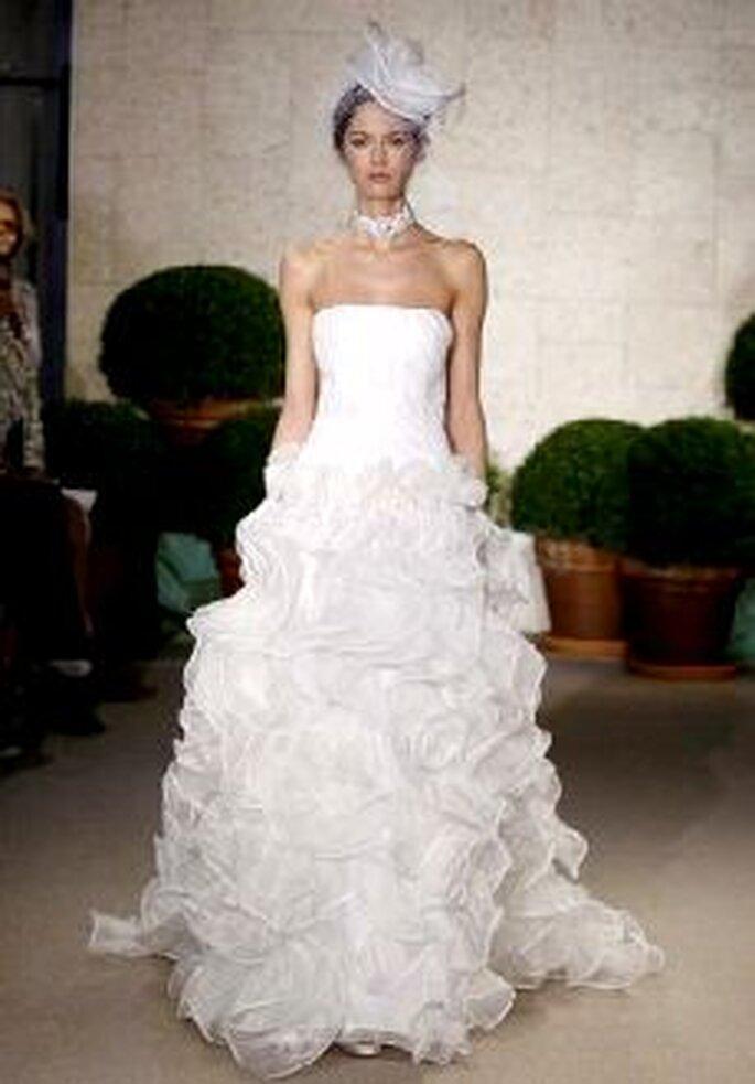 Vestidos de Noiva Oscar de La Renta 2011