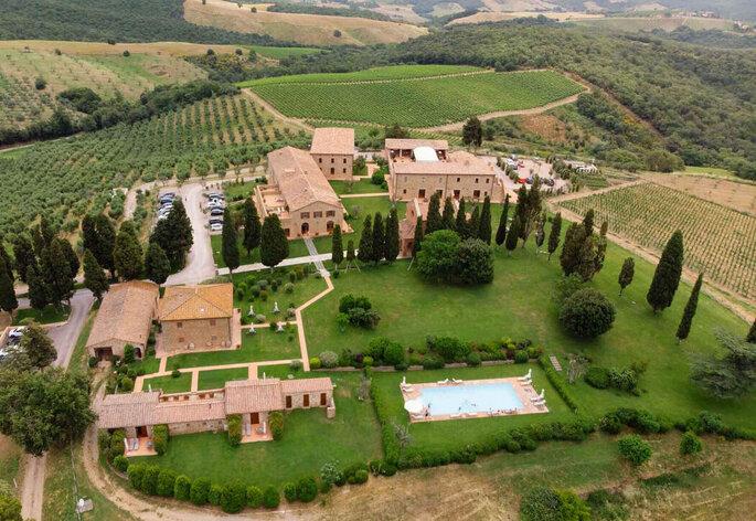 Tenuta di Montecucco - Lieu de réception mariage - Italie