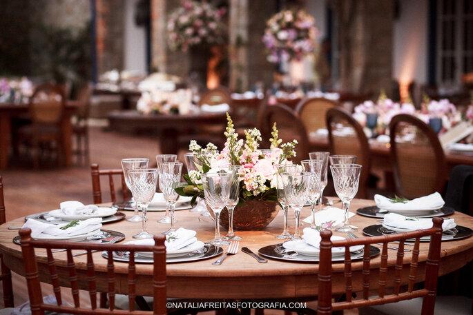 mesa casamento