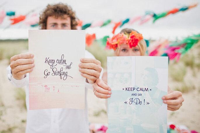 Una boda de inspiración surfera - Foto David One