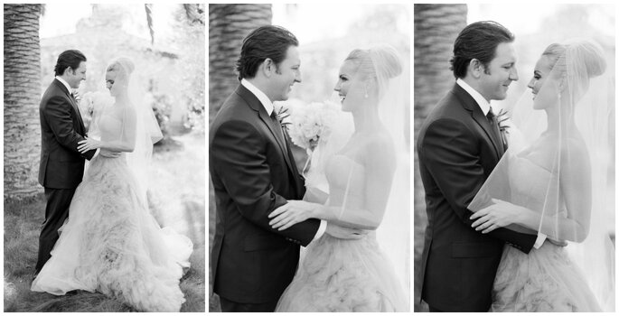 Joanne + Alex´s Wedding, Image: Jose Villa Photography