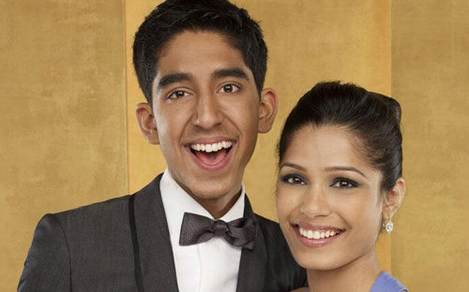 Dev Patel e Freida Pinto innamorati