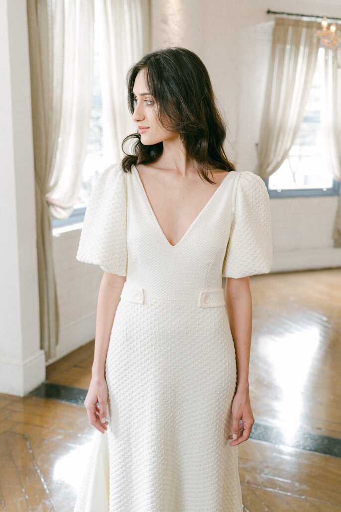 vestido de noiva matelasse