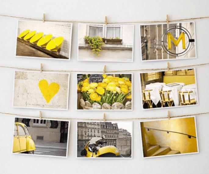 regala postales a los invitados que vayan a tu boda - Foto Etsy