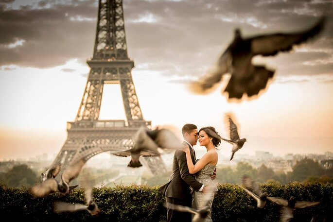 Para Młoda w Paryżu
