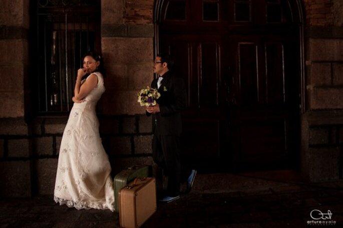 La fotografía artística de boda quedará perfecta con tu estilo - Foto Arturo Ayala