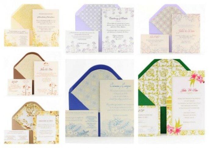 Azulsahara Einladungen, Kollektion 2012 Chic & Trendy - Foto: Azul Sahara