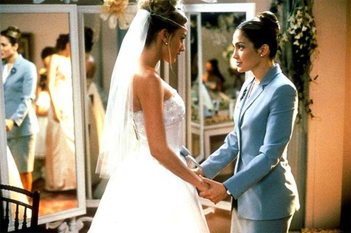 Jennifer López encarna a una organizadora de bodas en 'The wedding planner'