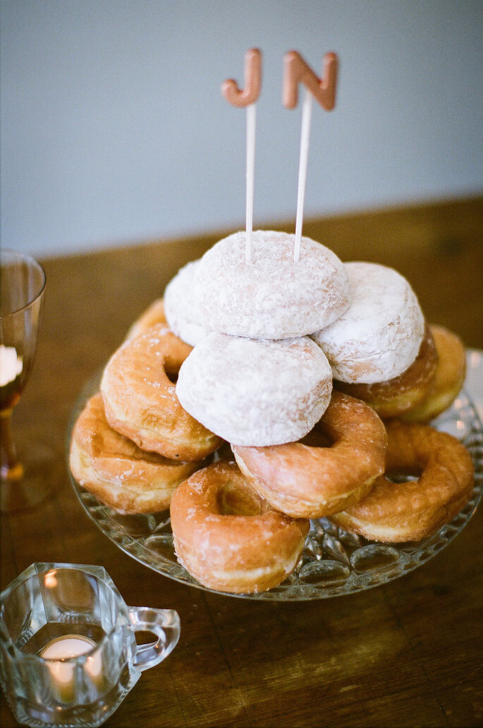 Alternativas deliciosas para el pastel de bodas - Lily Glass Photography
