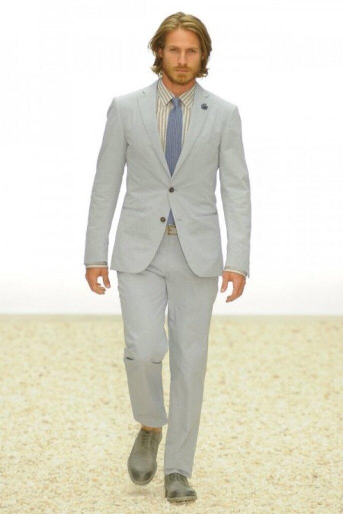 Grey suit by Ermenegildo Zegna