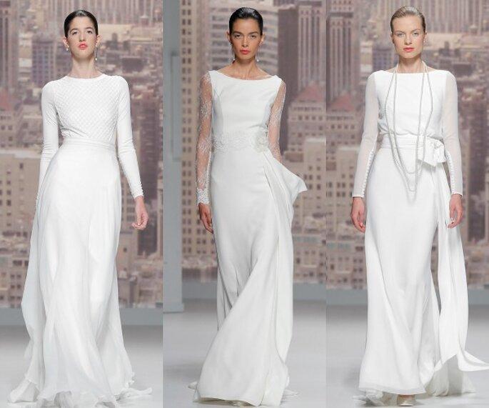 Rosa Clará, collection 2015 - Photo: Barcelona Bridal Week