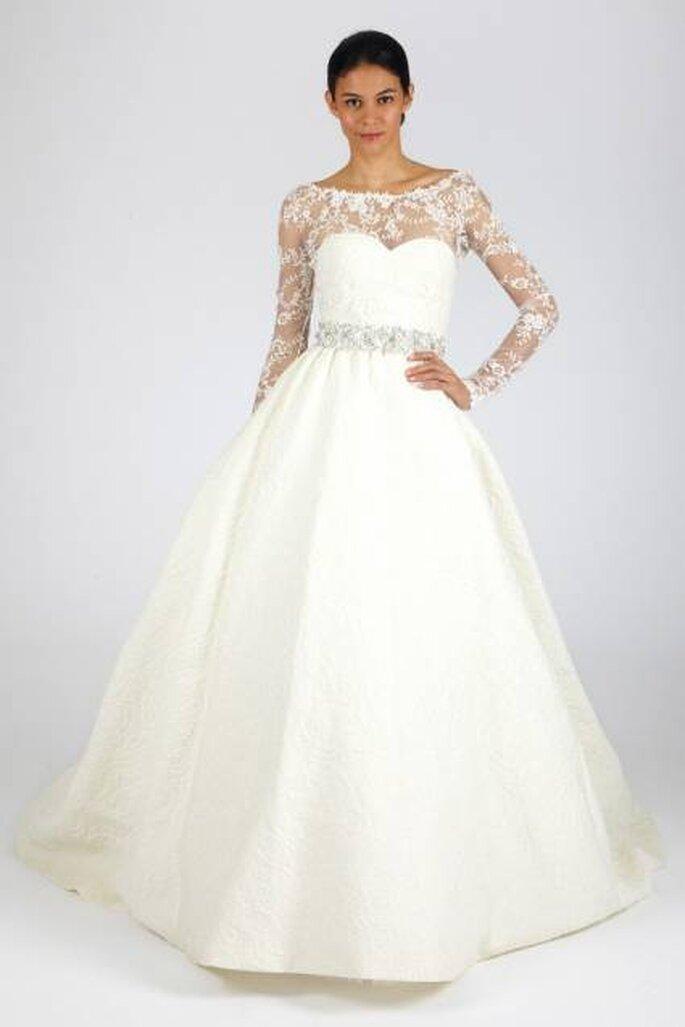 Fashion Designer Oscar de la Renta präsentiert seine Brautmoden-Kollektion für Herbst/Winter 2013 – Foto: Oscar de la Renta