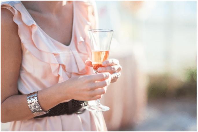 Ofrece mimosas en el desayuno o una buena copa de champagne - Foto Hike Photography