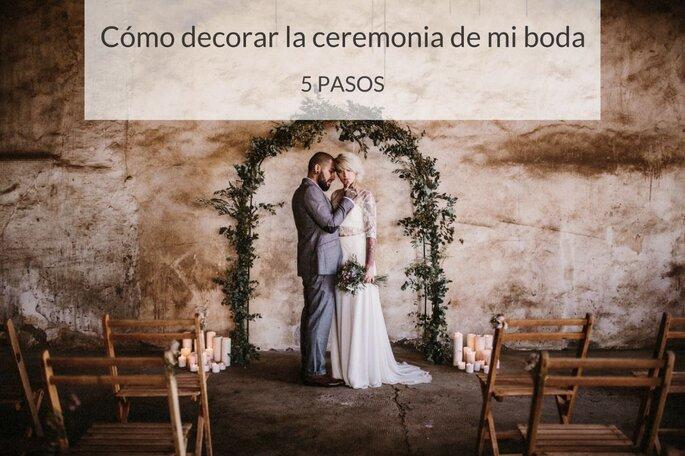 Cómo decorar la ceremonia de mi boda