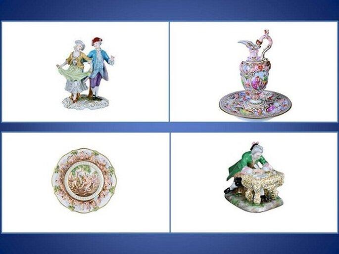 Oggetti d'arte e soprammobile di Stile Ginori. Foto: products.richardginori1735.com