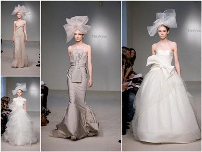 Vera Wang 2012 - chapéus