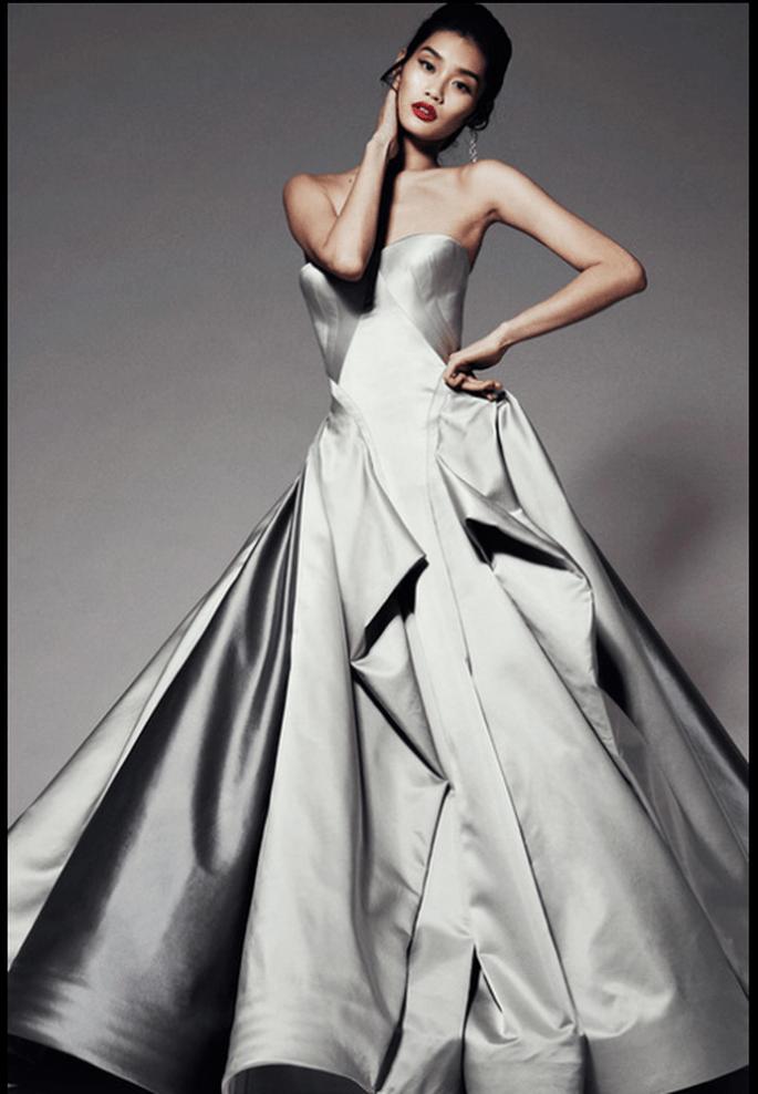 Vestido de novia para Pre Fall 2014 en tendencia - Foto Zac Posen
