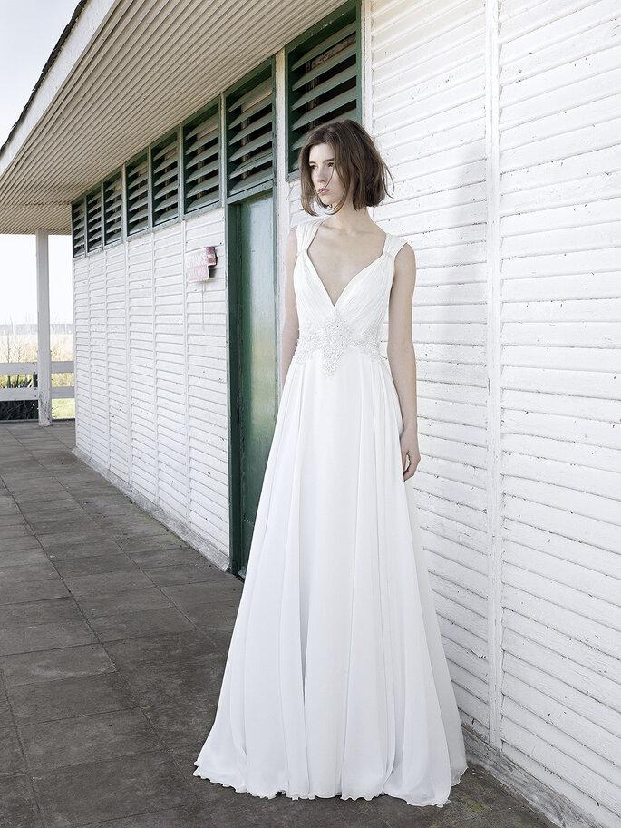 vestido da noiva de touro
