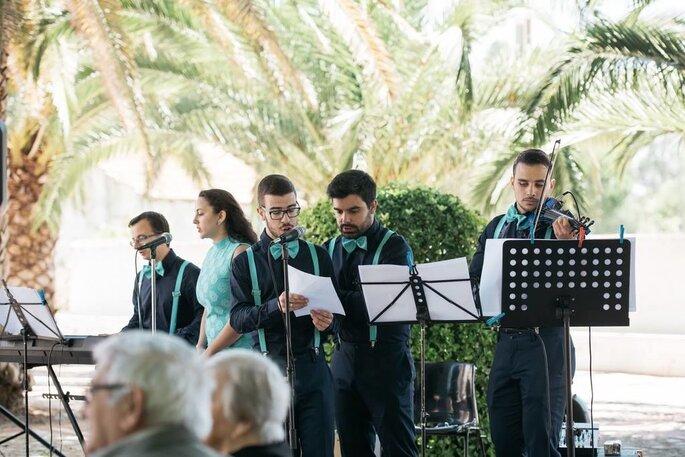Espetáculo musical casamento