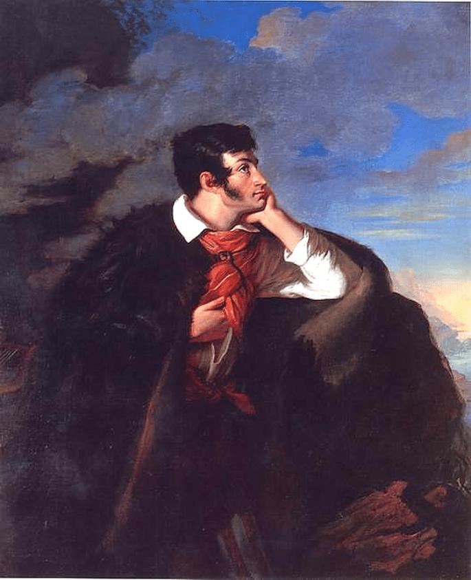 Adam Mickiewicz by Walenty Wańkowicz 1827-1828 (painter died in 1842) source http://www.latribunedelart.com/Expositions_2005/Wankowicz_Mickiewicz.htm