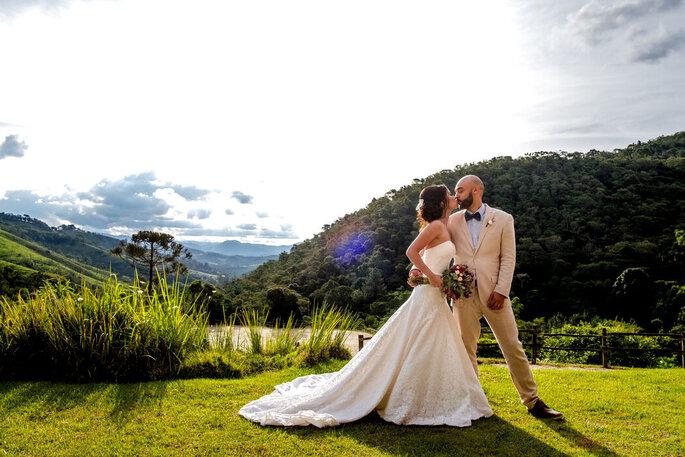 Casal assessorado pela Tamy Ribeiro Eventos