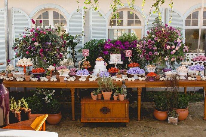 Flores e paisagismo Bia Pedrini. Foto: Thrall Photography