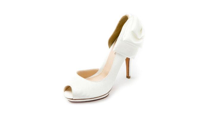 Zapatos de novia de la firma Uterque
