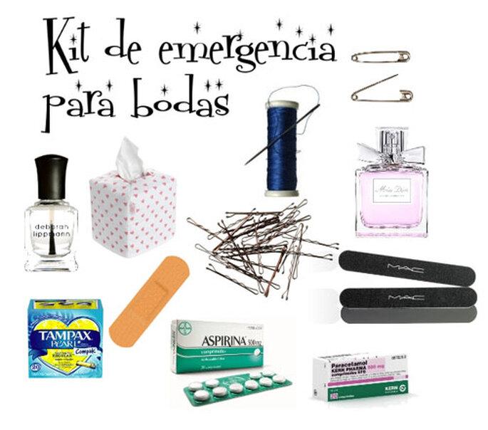 Un detalle de 10 regala kits de emergencia a tus invitados - Kit bano boda ...