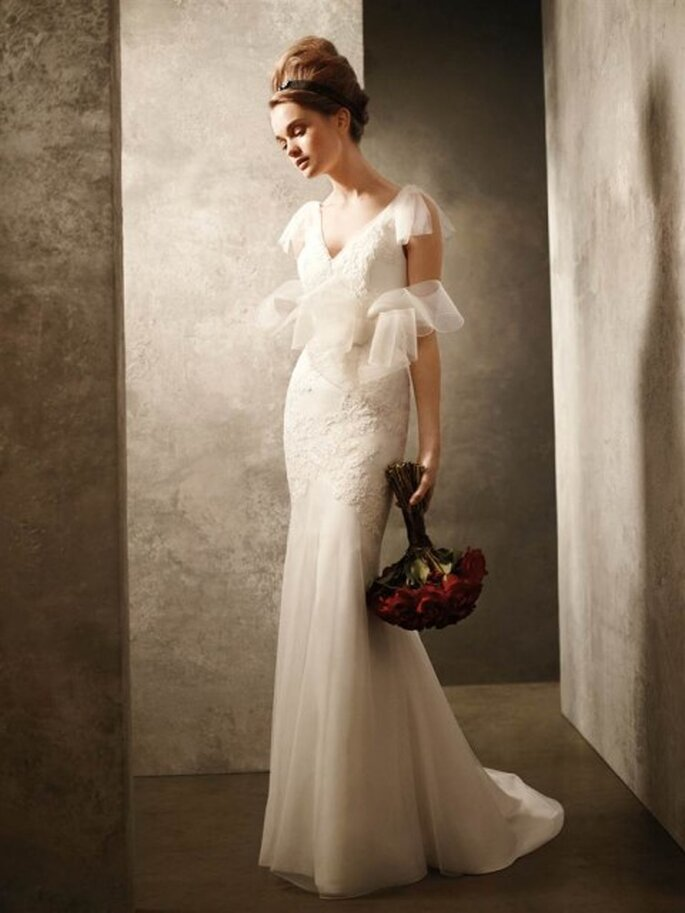 Robe de mariée en organza - Photo: Vera Wang 2011