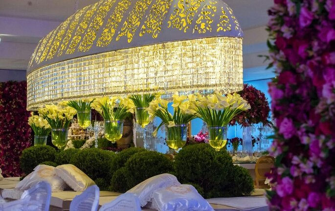 decoração casamento luxo
