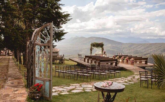 Casamento ao ar livre em BH e região