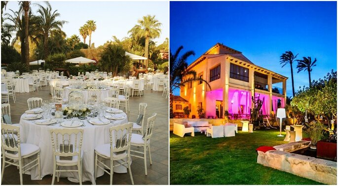 Lugares para una boda en la playa de Alicante