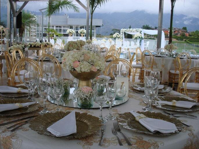 Chely Gómez Event Planner decoración de bodas