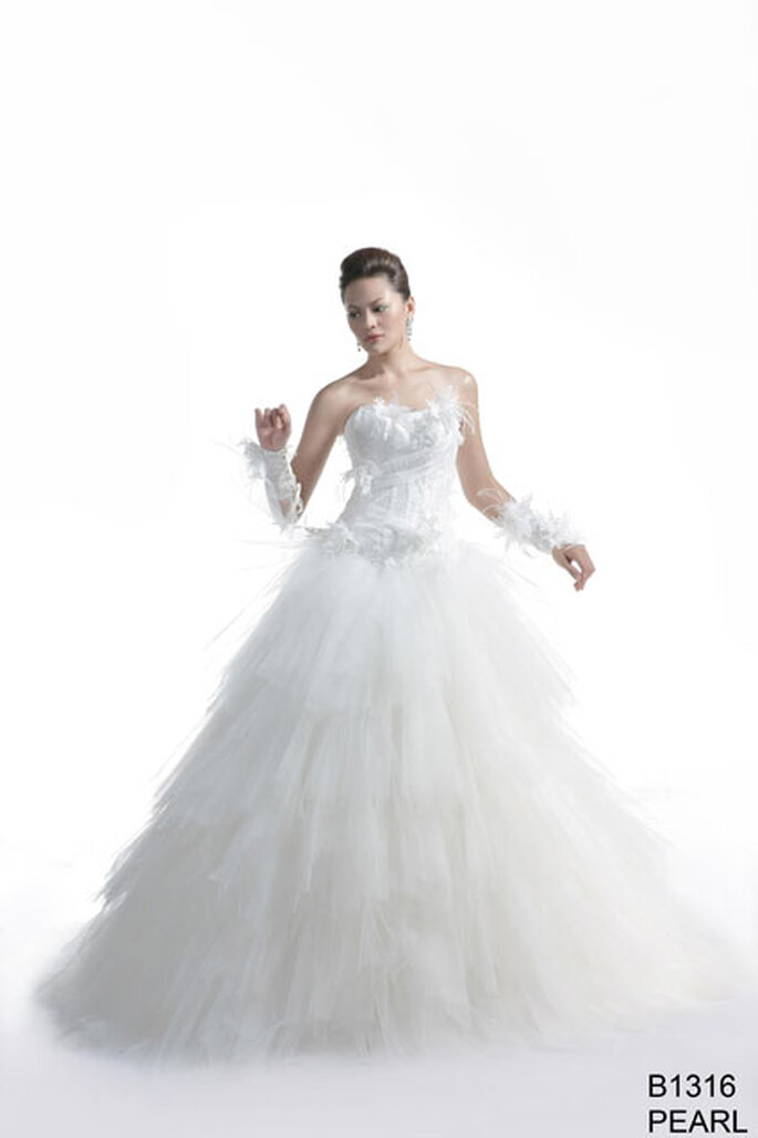 Pearl - BGP Company 2012 collection Elysa Bridal
