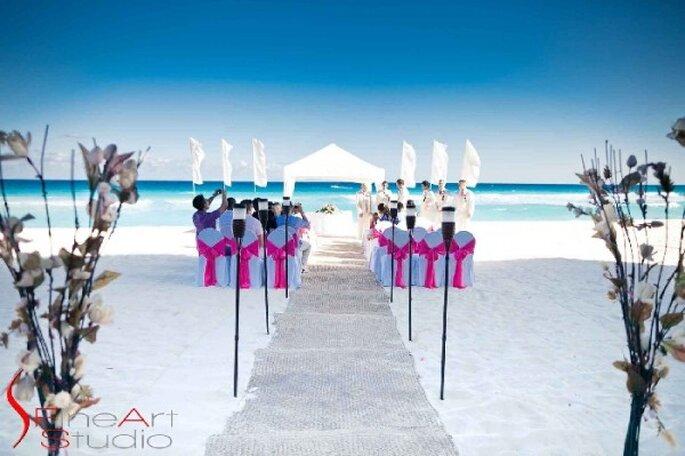 """Haz que tus invitados se sientan en pleno contacto con la naturaleza con la tendencia """"Harmony"""" - Foto Fineart Studio Boutique Wedding Photography"""