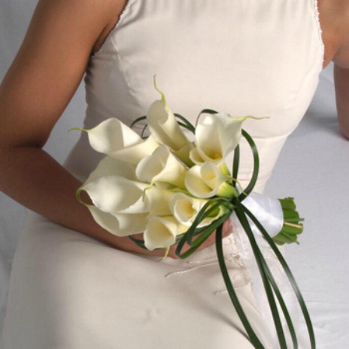 Wedding Bouquets With Arum Lilies : Buqu?s de noiva com copo leite