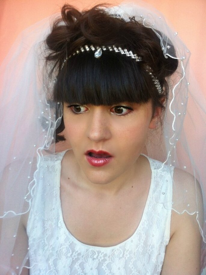 "Headband de mariage ""Goutte de bonheur"" - cup-accessories"