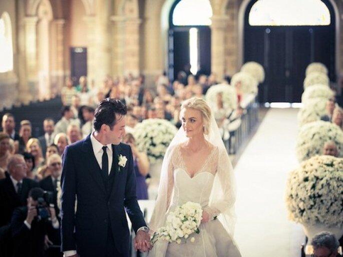 Casamento da Top Carol Trentini na Vogue.com  Foto: Thiago Bellini