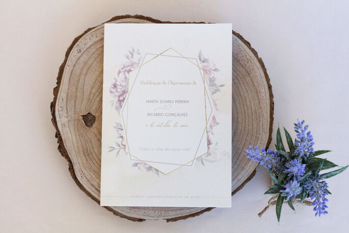 missal de casamento simples