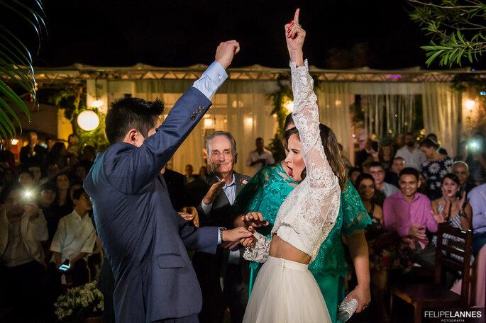 Vibração noivos