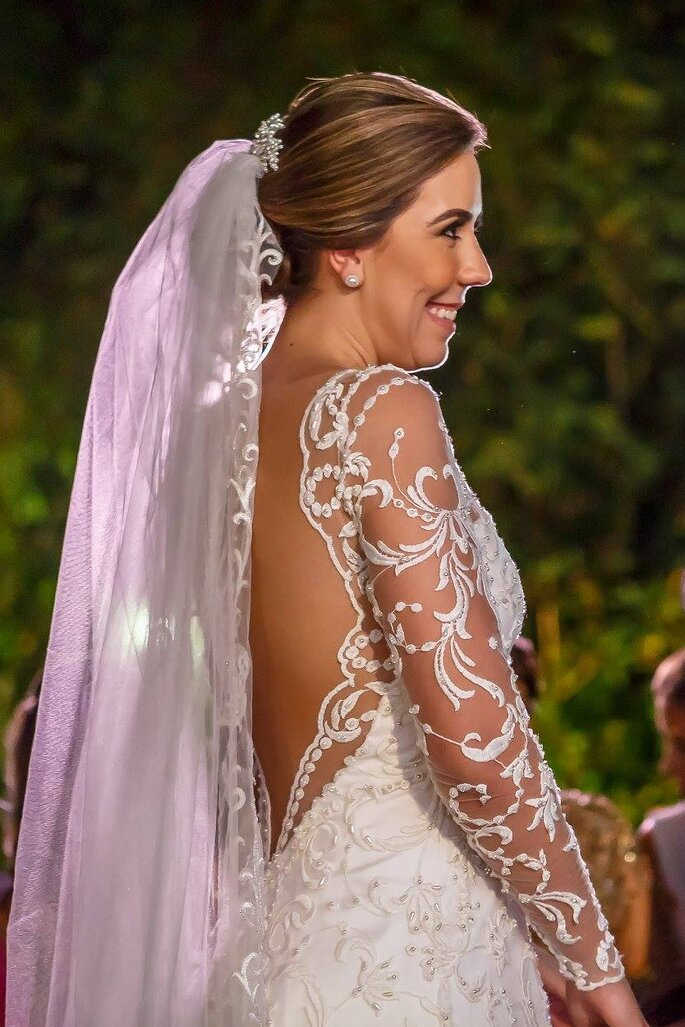 vestido noiva Carol Hungria
