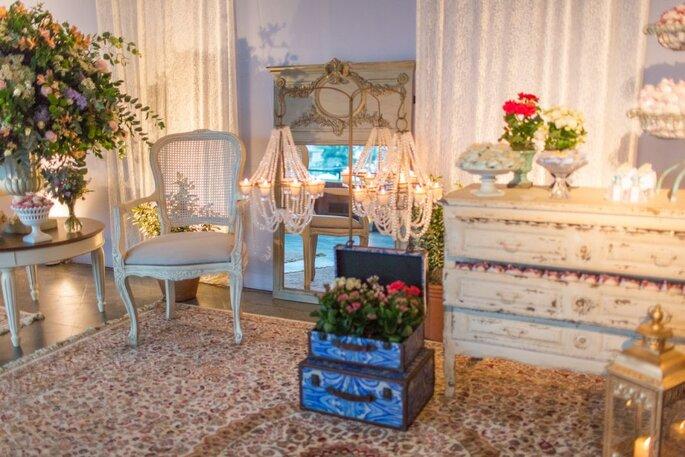 estilos de decoração de casamento