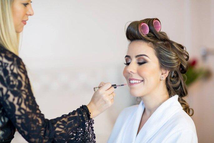 maquiagem noiva clássica