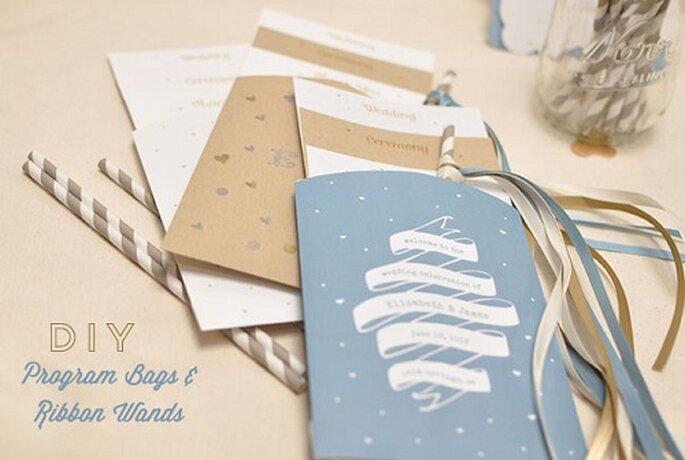 Il vostro programma personalizzato da Green Wedding Shoes. Foto: greenweddingshoes.com